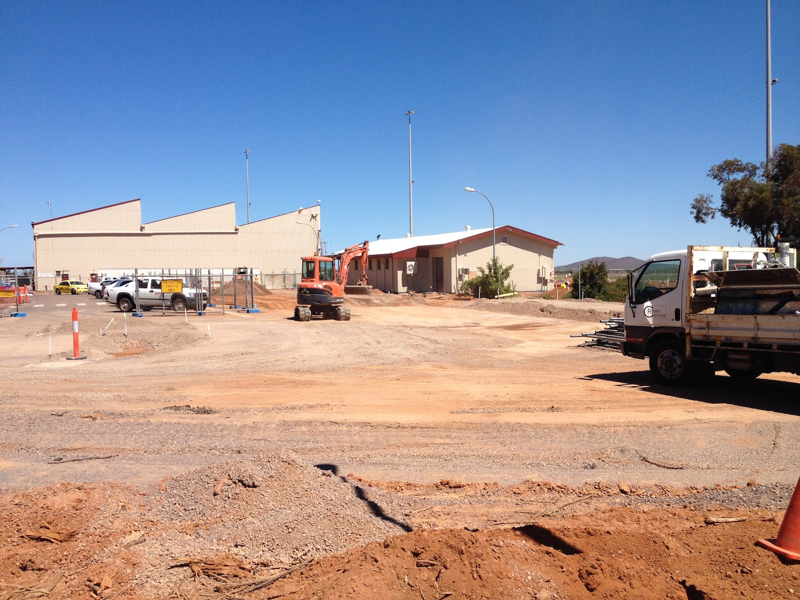 Whyalla Aiport construction starts